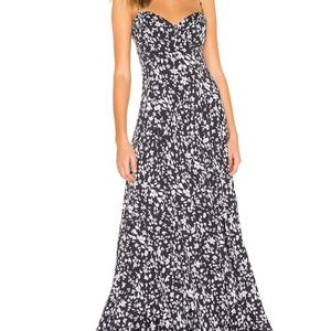 NWT FREE PEOPLE UNDER THE MOONLIGHT MAXI DRESS